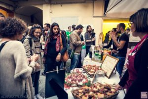 7 ottobre, Studio Marco Gennaro Architetto: l'aperitivo offerto dai food sponsor di PWF6: I Binari del Gusto, Chialvamenta, Molecola, Consorzio dell'Asti DOCG, Negozio Leggero