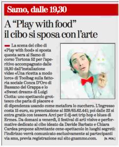La Stampa - 13 ottobre 2015