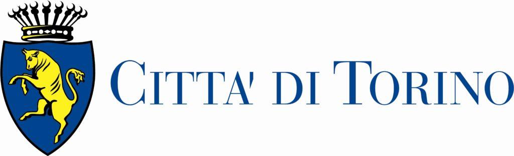 Logo Città di Torino sbandierato