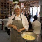 """13 maggio, Qubì, """"The Best of Cinecolazione"""", anteprima di PWF7: Margherita di Qubì con Pastificio Bolognese (foto di Mario Ruggiero)"""